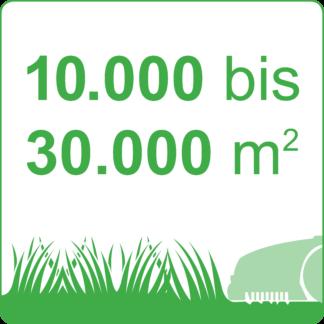 10.000 bis 30.000 m²